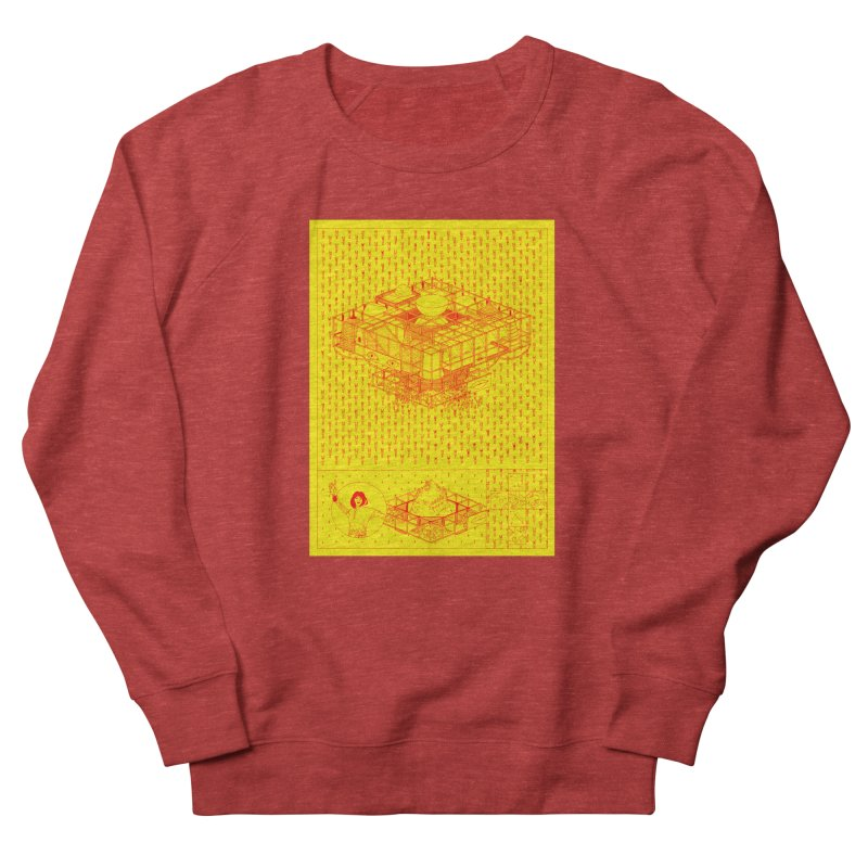 Caramantran Men's French Terry Sweatshirt by yobann's Artist Shop