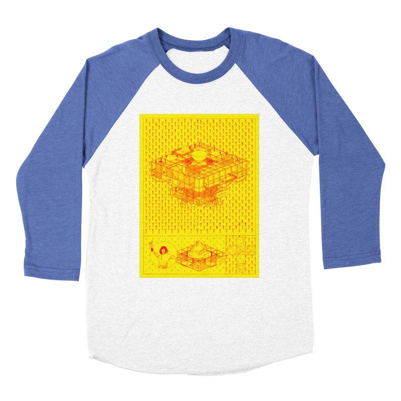 Caramantran Women's Baseball Triblend Longsleeve T-Shirt by yobann's Artist Shop