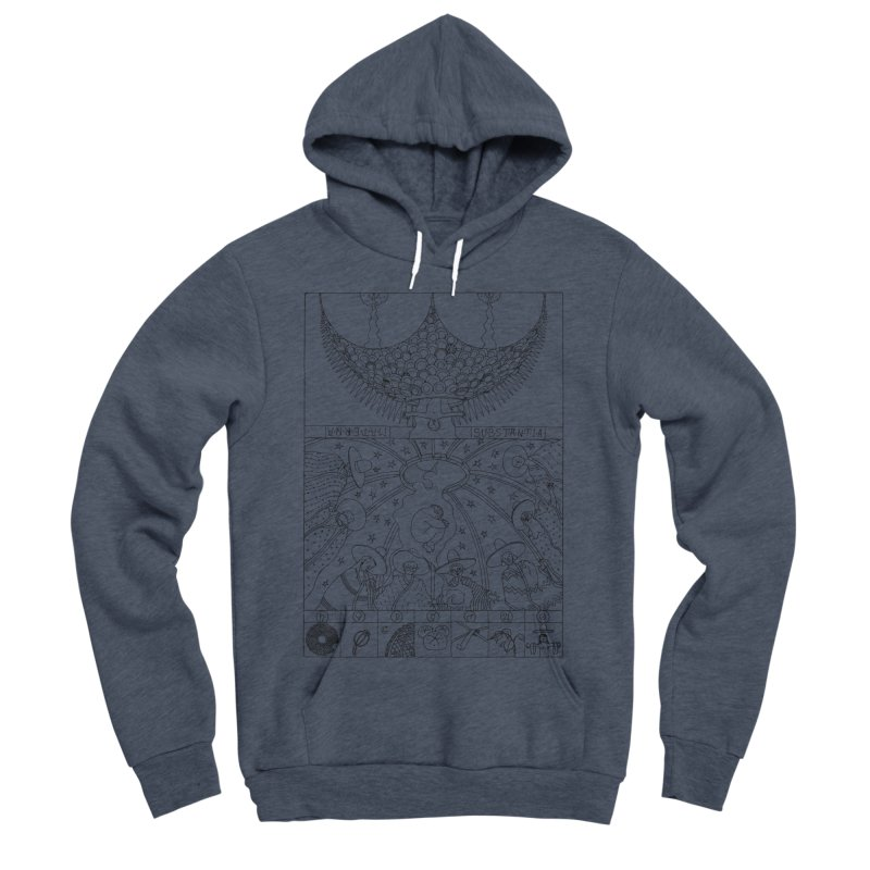 Substantia Women's Sponge Fleece Pullover Hoody by yobann's Artist Shop