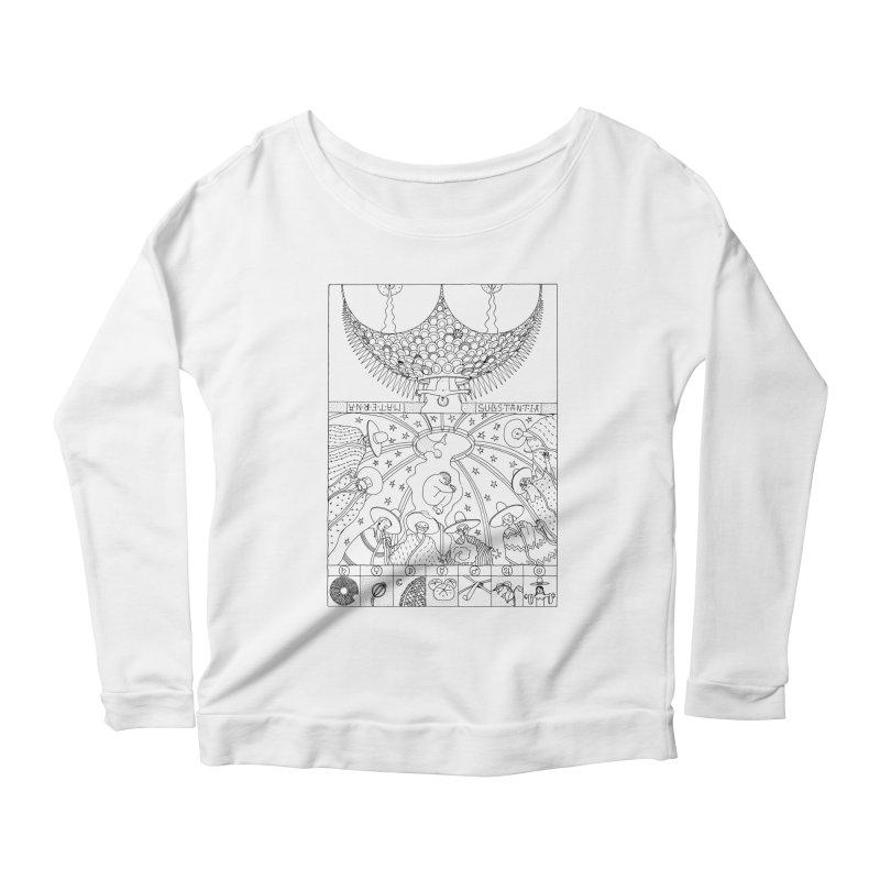 Substantia Women's Scoop Neck Longsleeve T-Shirt by yobann's Artist Shop