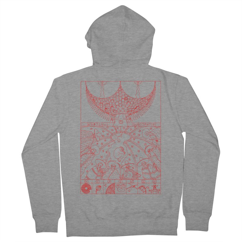Substantia Women's French Terry Zip-Up Hoody by yobann's Artist Shop