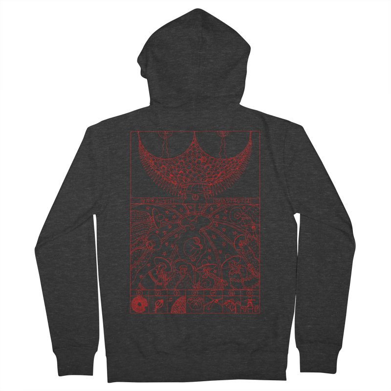 Substantia Men's French Terry Zip-Up Hoody by yobann's Artist Shop