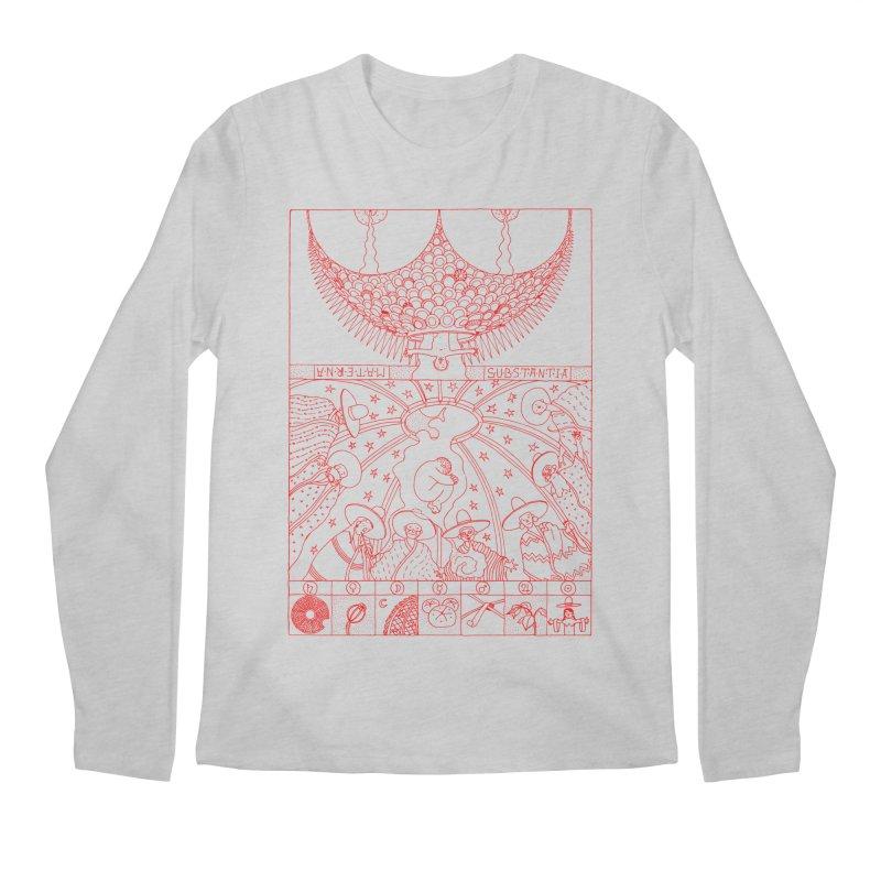 Substantia Men's Regular Longsleeve T-Shirt by yobann's Artist Shop