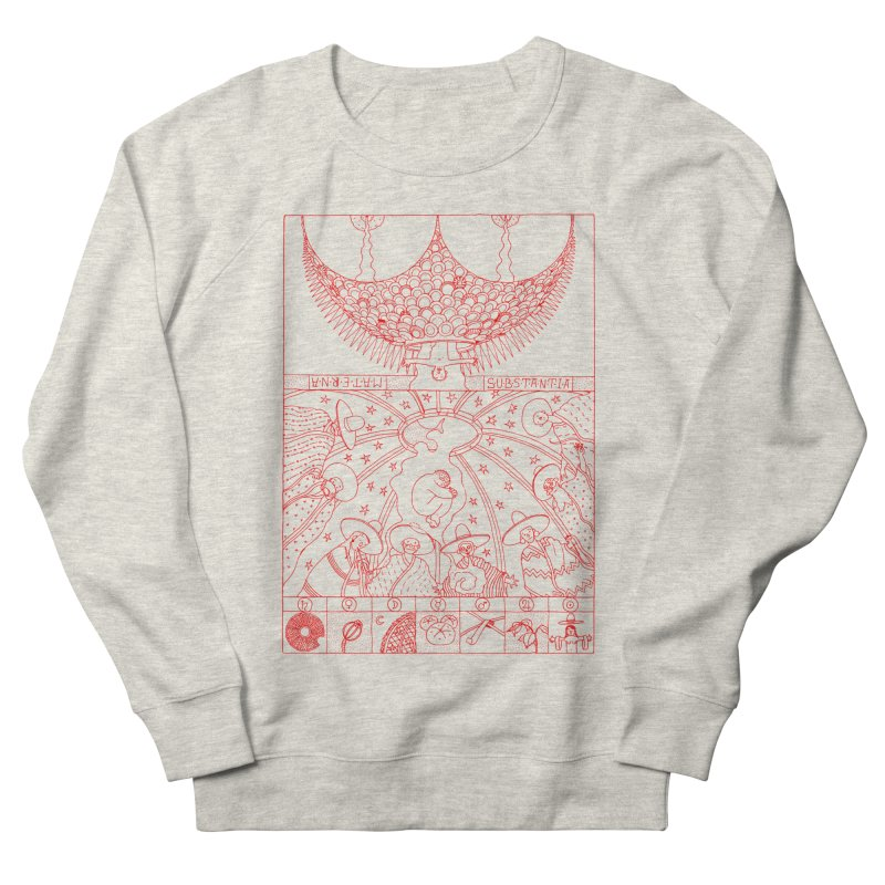 Substantia Men's French Terry Sweatshirt by yobann's Artist Shop