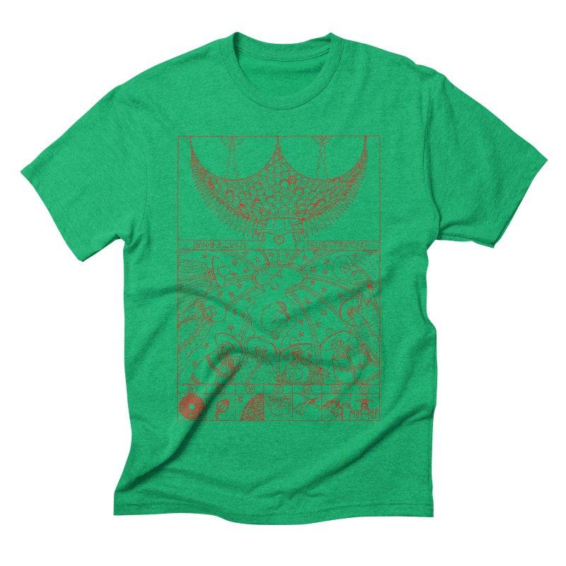 Substantia Men's Triblend T-Shirt by yobann's Artist Shop