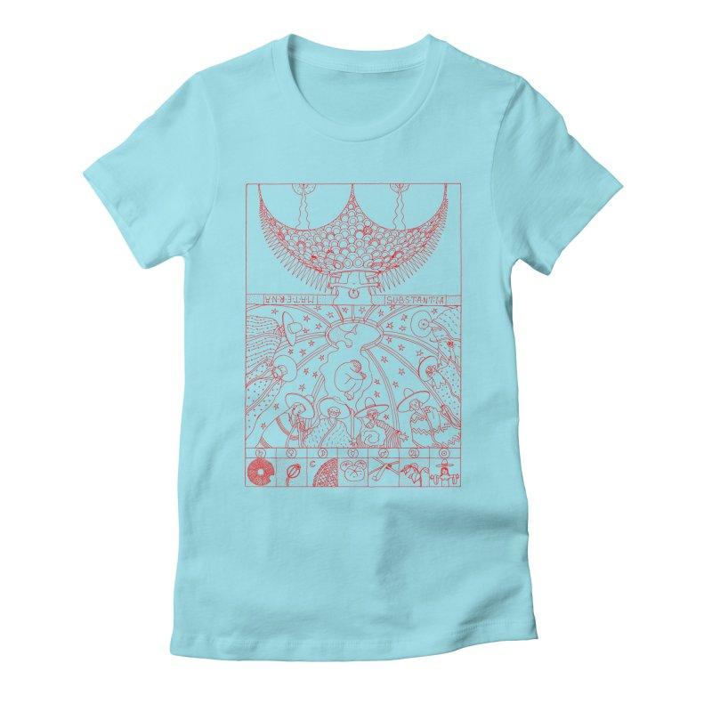 Substantia Women's Fitted T-Shirt by yobann's Artist Shop
