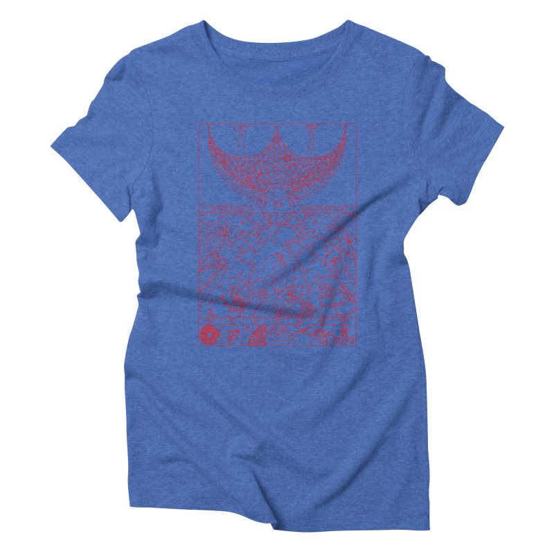 Substantia Women's Triblend T-Shirt by yobann's Artist Shop