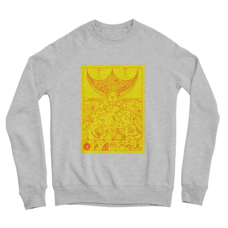 Substantia Men's Sponge Fleece Sweatshirt by yobann's Artist Shop