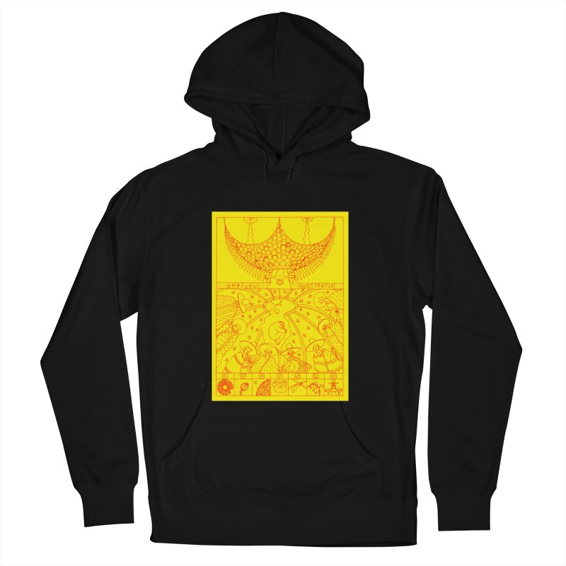 Substantia Women's French Terry Pullover Hoody by yobann's Artist Shop