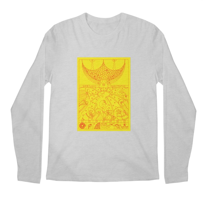 Substantia Men's Regular Longsleeve T-Shirt by yobann's Artist Shop