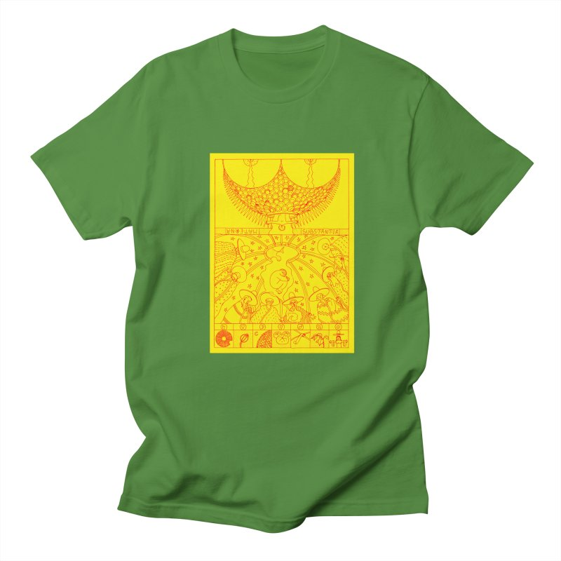 Substantia Men's Regular T-Shirt by yobann's Artist Shop