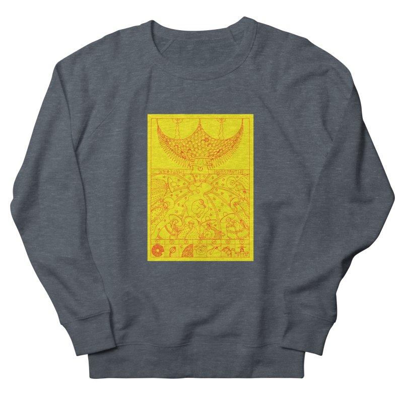Substantia Women's French Terry Sweatshirt by yobann's Artist Shop