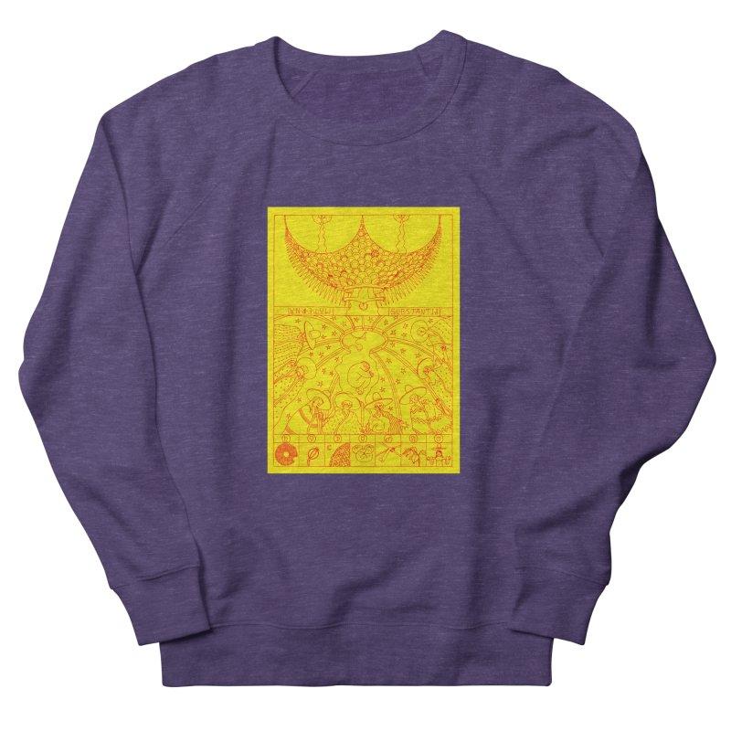 Substantia Men's French Terry Sweatshirt by yobann's Artist Shop