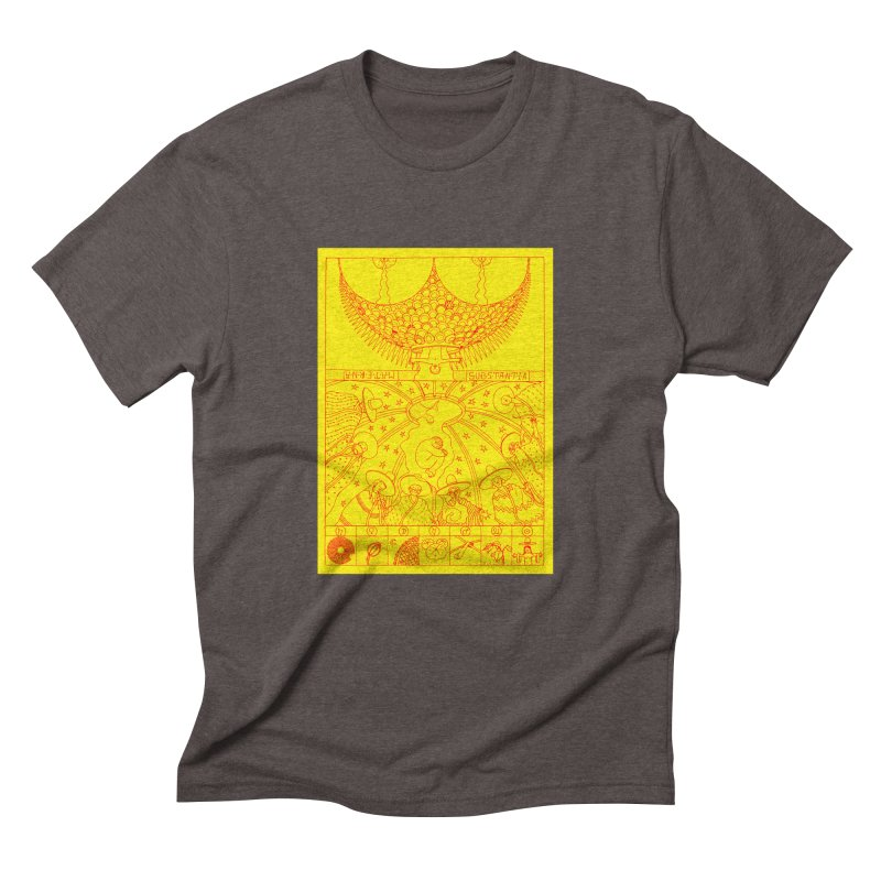 Substantia Men's Triblend T-Shirt by yobann's Artist Shop