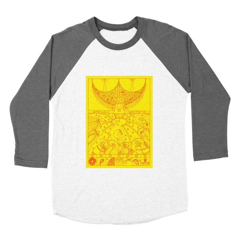 Substantia Men's Baseball Triblend Longsleeve T-Shirt by yobann's Artist Shop