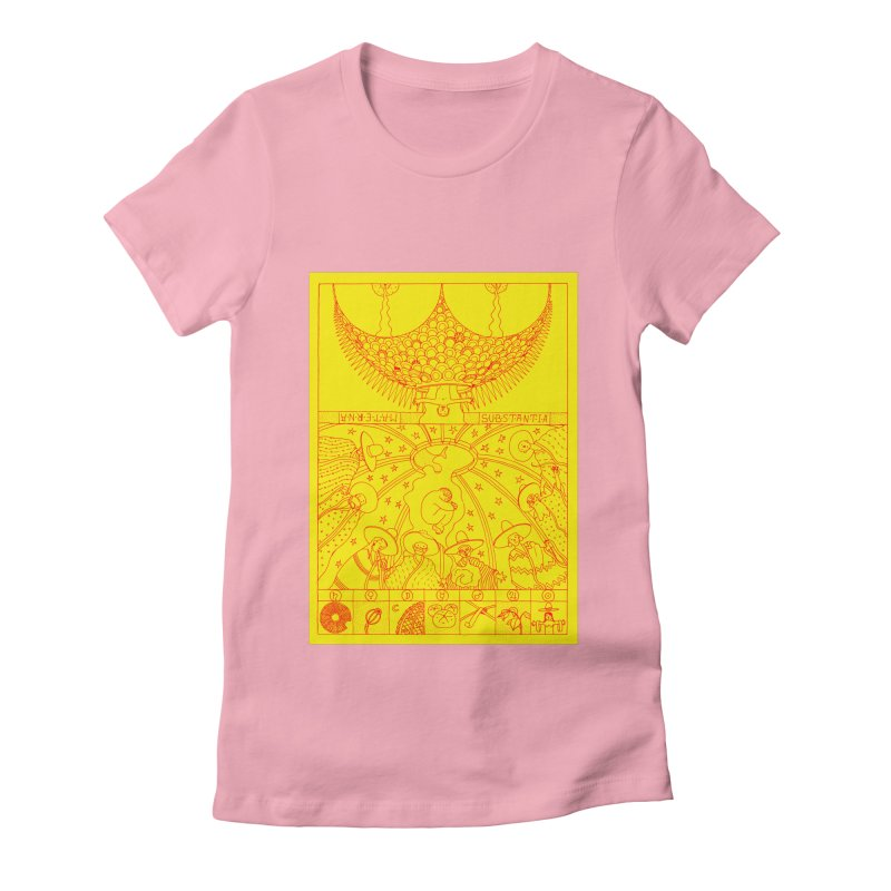 Substantia Women's Fitted T-Shirt by yobann's Artist Shop