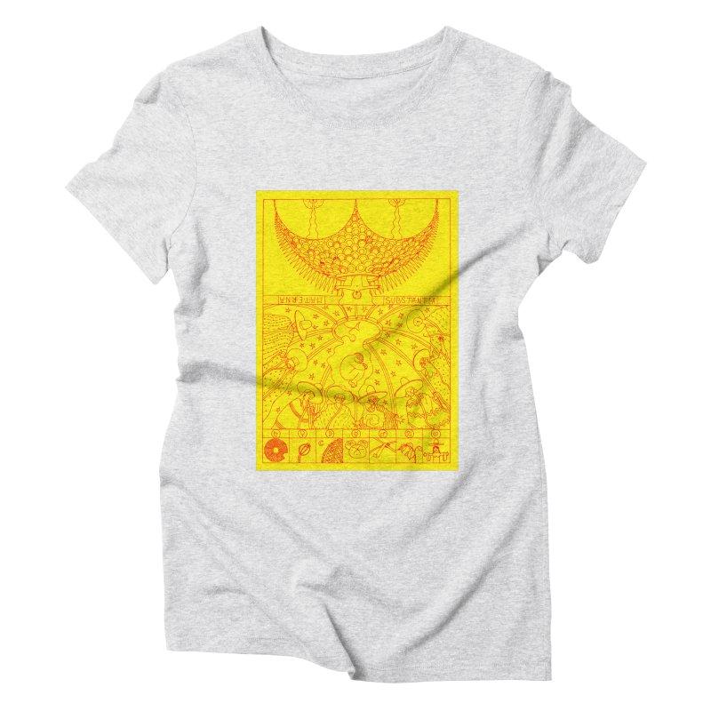 Substantia Women's Triblend T-Shirt by yobann's Artist Shop