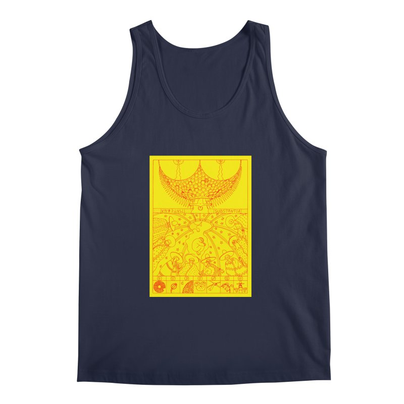 Substantia Men's Regular Tank by yobann's Artist Shop
