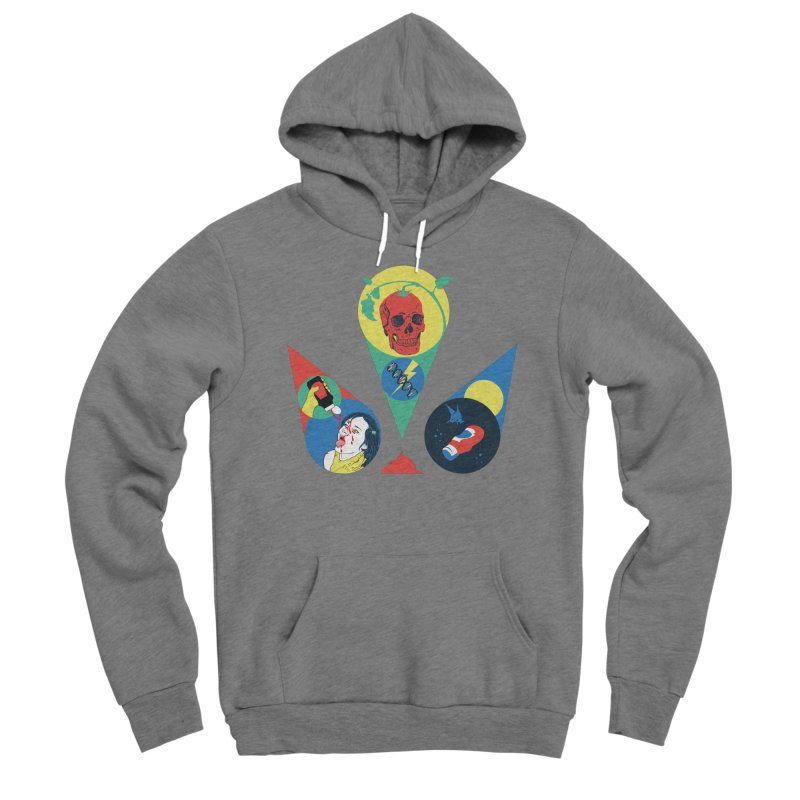 DEATH SAUCE Men's Sponge Fleece Pullover Hoody by yobann's Artist Shop