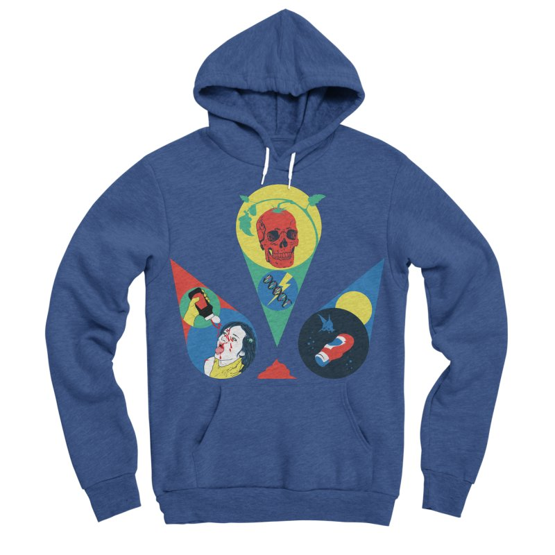 DEATH SAUCE Women's Sponge Fleece Pullover Hoody by yobann's Artist Shop