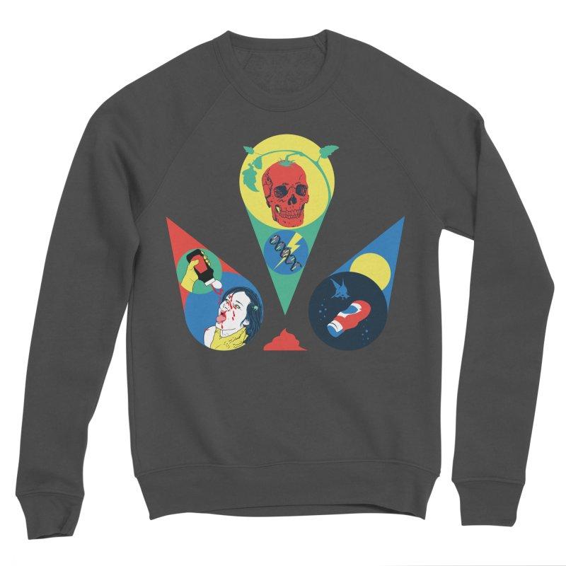 DEATH SAUCE Women's Sponge Fleece Sweatshirt by yobann's Artist Shop