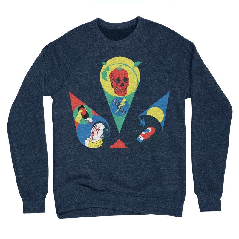 DEATH SAUCE Men's Sponge Fleece Sweatshirt by yobann's Artist Shop