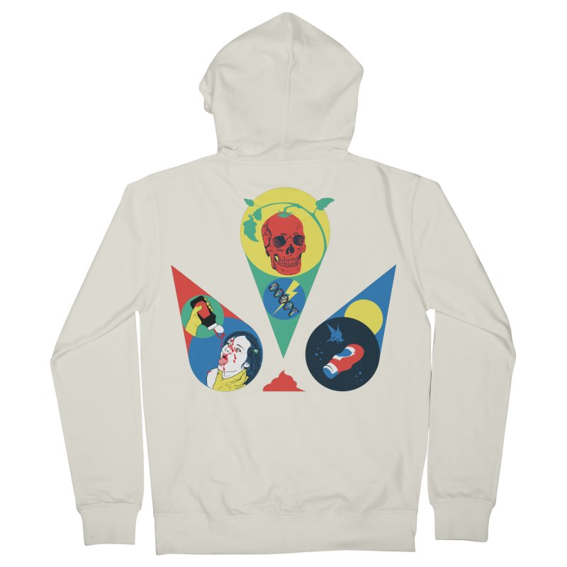 DEATH SAUCE Women's Zip-Up Hoody by yobann's Artist Shop