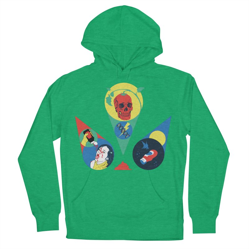 DEATH SAUCE Women's French Terry Pullover Hoody by yobann's Artist Shop