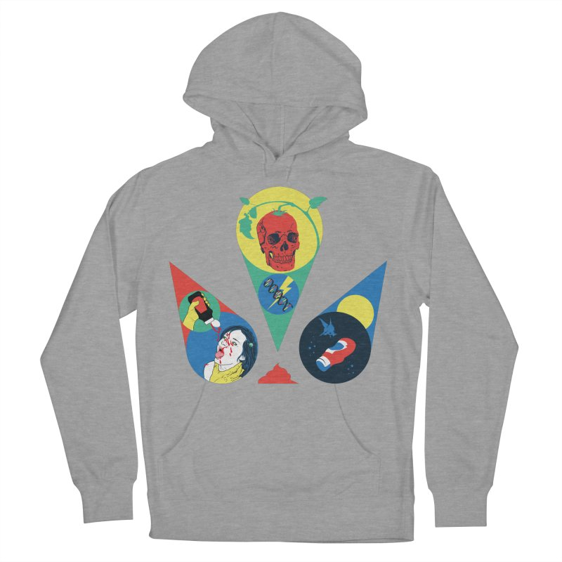 DEATH SAUCE Men's French Terry Pullover Hoody by yobann's Artist Shop