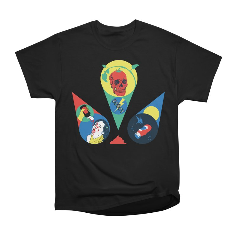 DEATH SAUCE Women's Heavyweight Unisex T-Shirt by yobann's Artist Shop