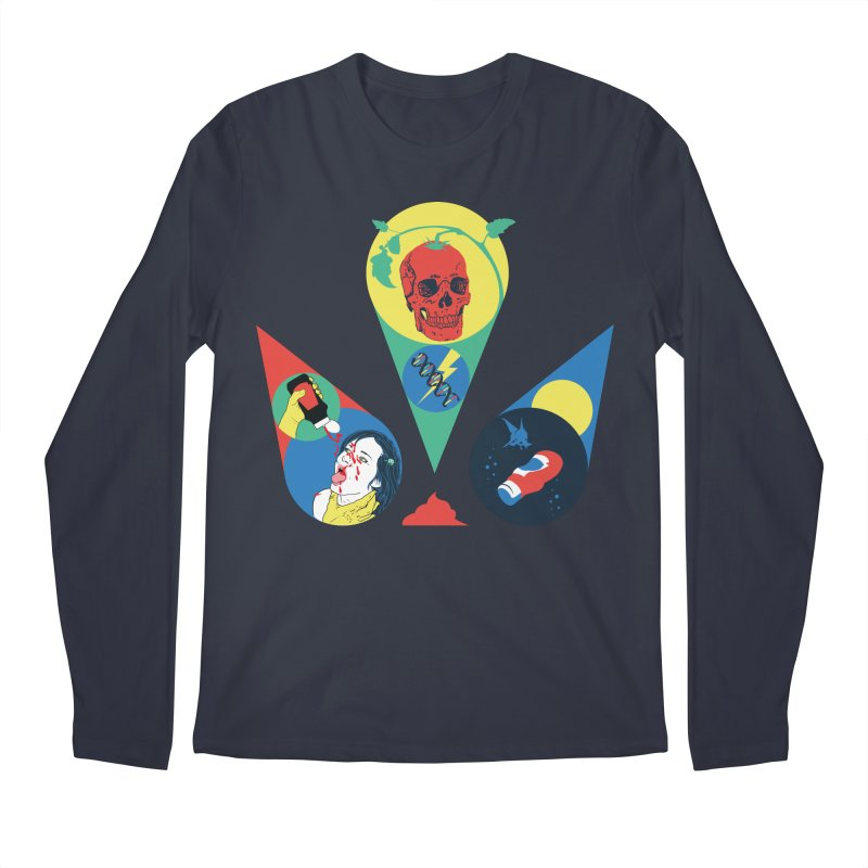 DEATH SAUCE Men's Regular Longsleeve T-Shirt by yobann's Artist Shop