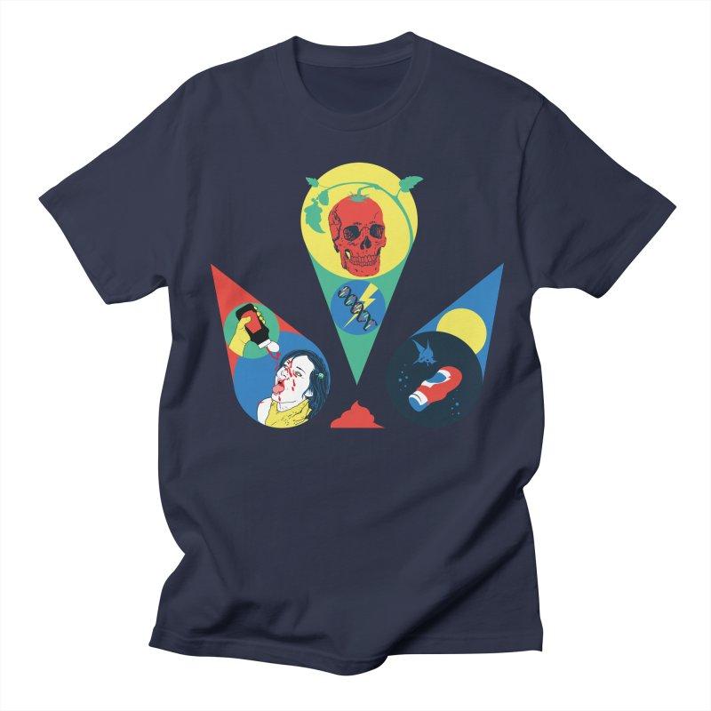 DEATH SAUCE Men's Regular T-Shirt by yobann's Artist Shop