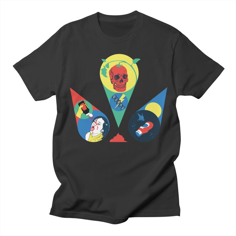 DEATH SAUCE Women's Regular Unisex T-Shirt by yobann's Artist Shop