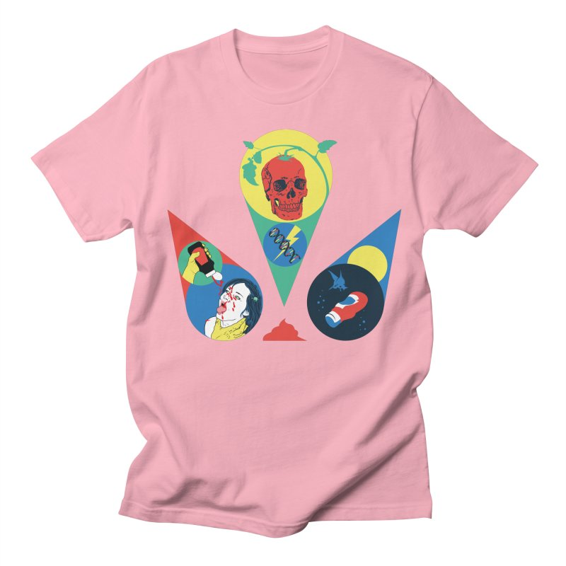 DEATH SAUCE Men's T-Shirt by yobann's Artist Shop