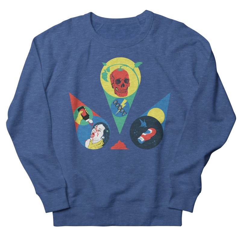 DEATH SAUCE Men's French Terry Sweatshirt by yobann's Artist Shop