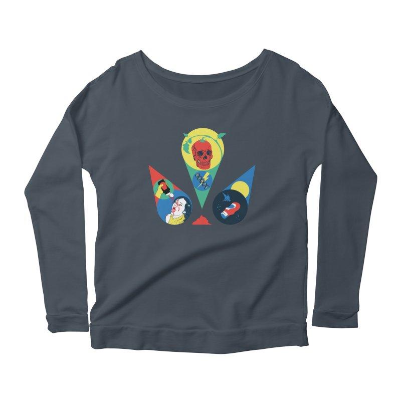DEATH SAUCE Women's Scoop Neck Longsleeve T-Shirt by yobann's Artist Shop