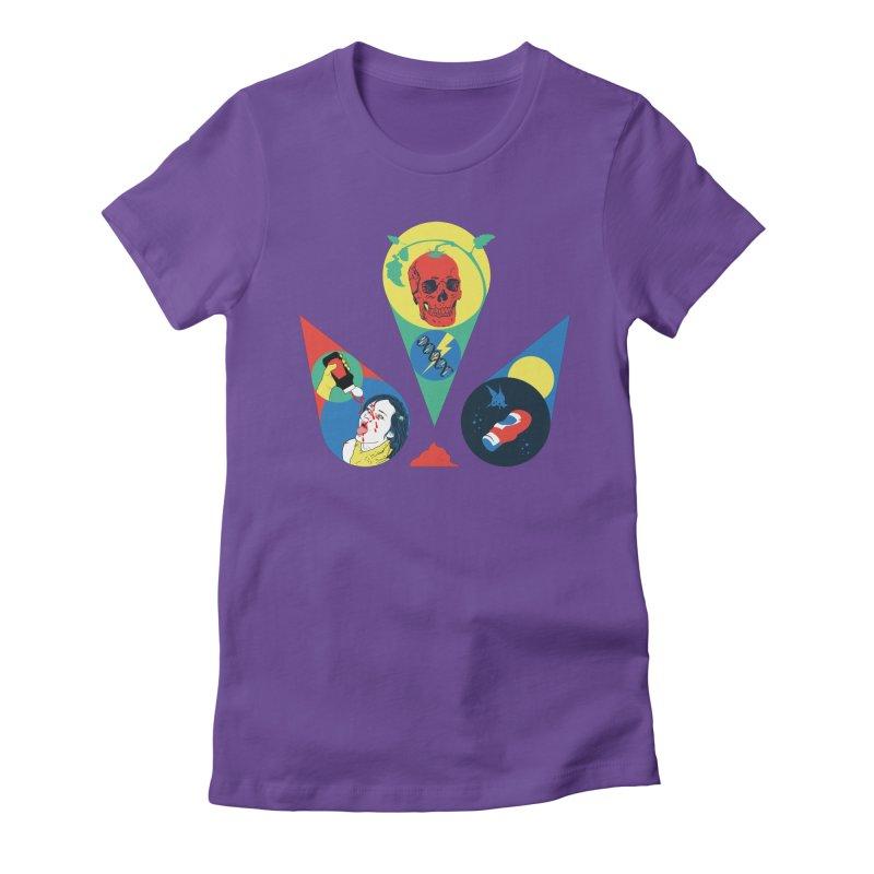 DEATH SAUCE Women's Fitted T-Shirt by yobann's Artist Shop