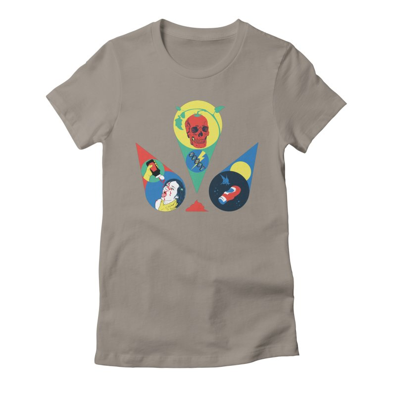 DEATH SAUCE Women's Fitted T-Shirt by yobann's Artist Shop