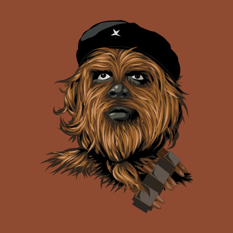 Chewie Guevara Kids Toddler T-Shirt by yobann's Artist Shop