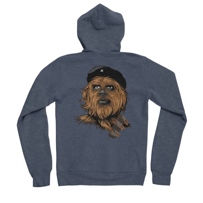 Chewie Guevara Men's Sponge Fleece Zip-Up Hoody by yobann's Artist Shop