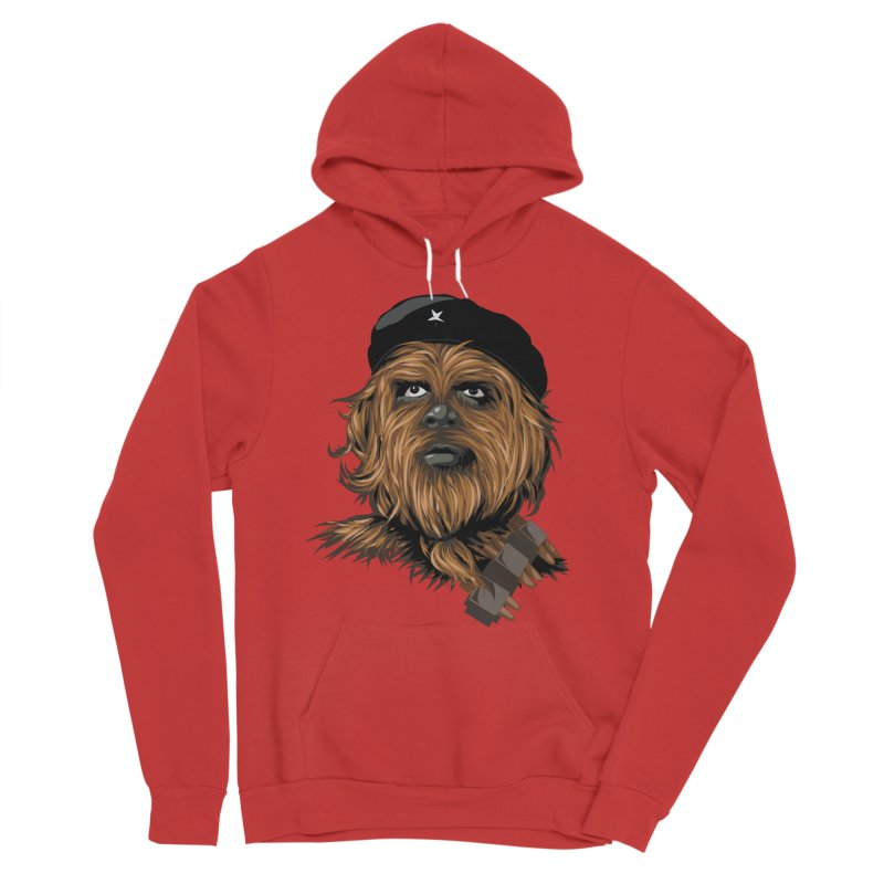Chewie Guevara Women's Sponge Fleece Pullover Hoody by yobann's Artist Shop