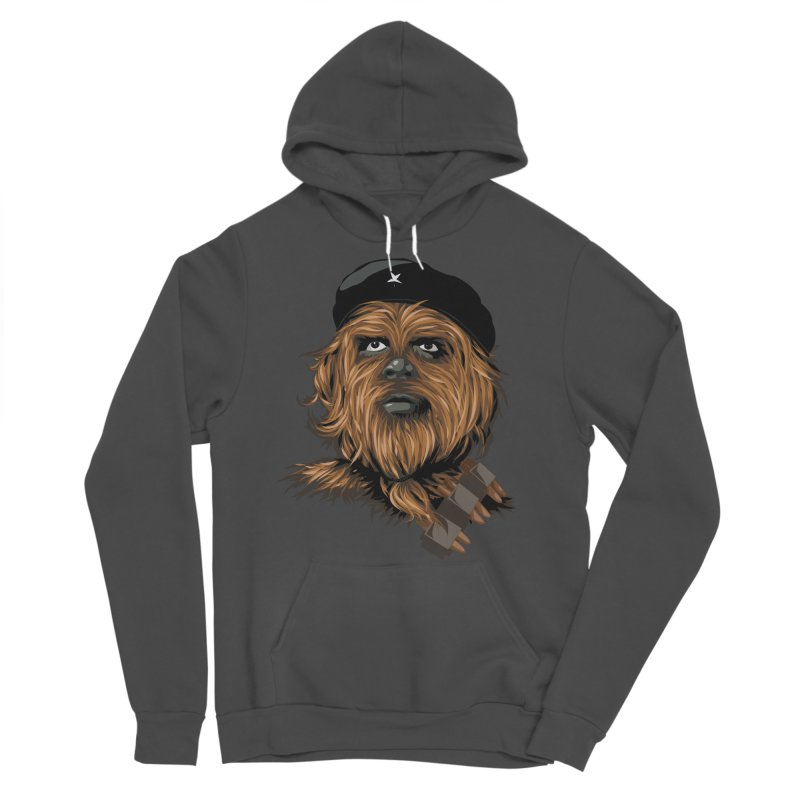 Chewie Guevara Men's Sponge Fleece Pullover Hoody by yobann's Artist Shop