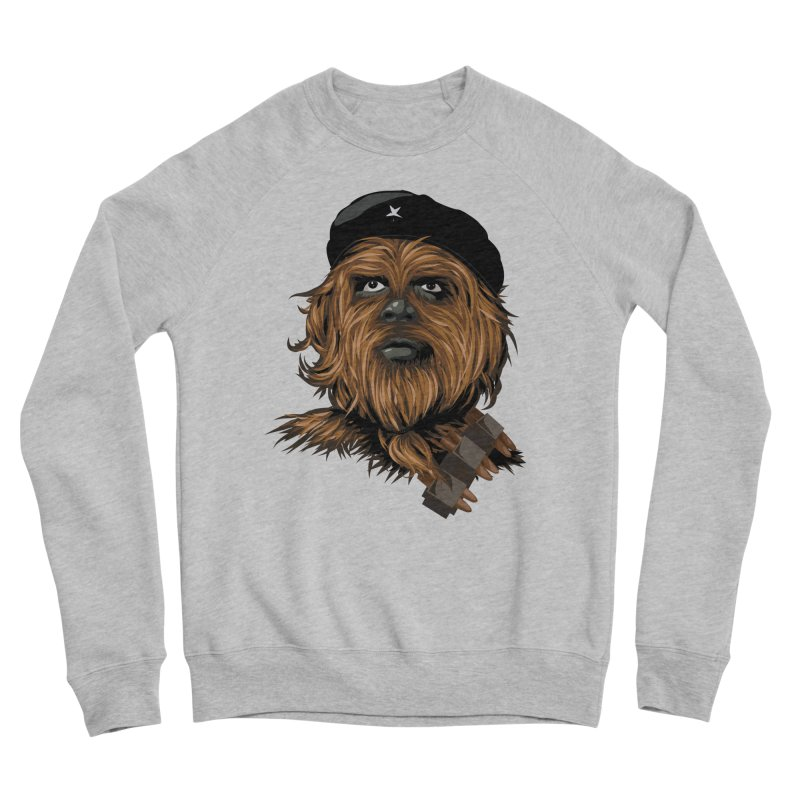 Chewie Guevara Women's Sponge Fleece Sweatshirt by yobann's Artist Shop
