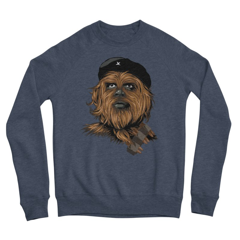 Chewie Guevara Men's Sponge Fleece Sweatshirt by yobann's Artist Shop