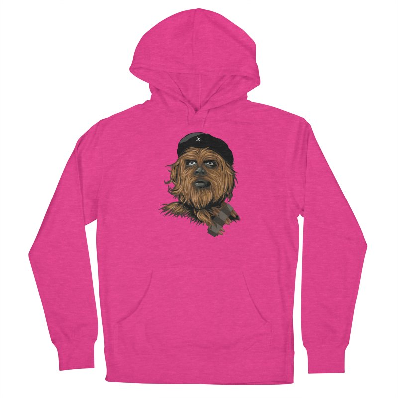 Chewie Guevara Women's French Terry Pullover Hoody by yobann's Artist Shop