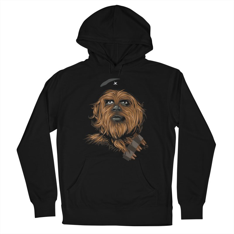 Chewie Guevara Men's French Terry Pullover Hoody by yobann's Artist Shop
