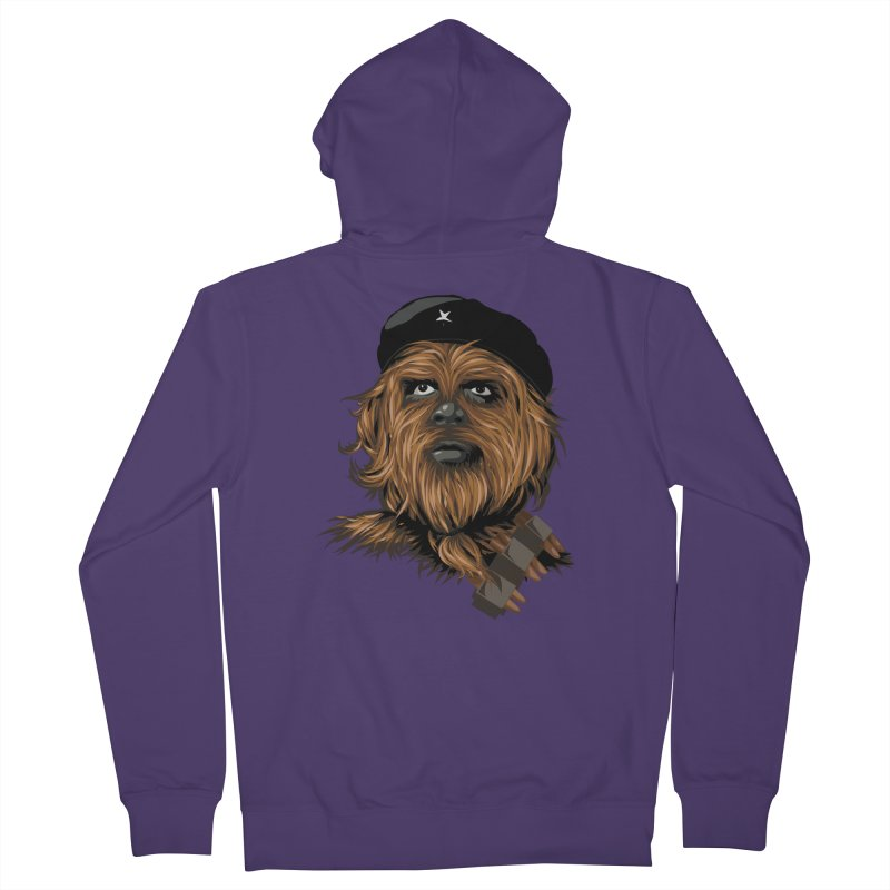 Chewie Guevara Women's French Terry Zip-Up Hoody by yobann's Artist Shop