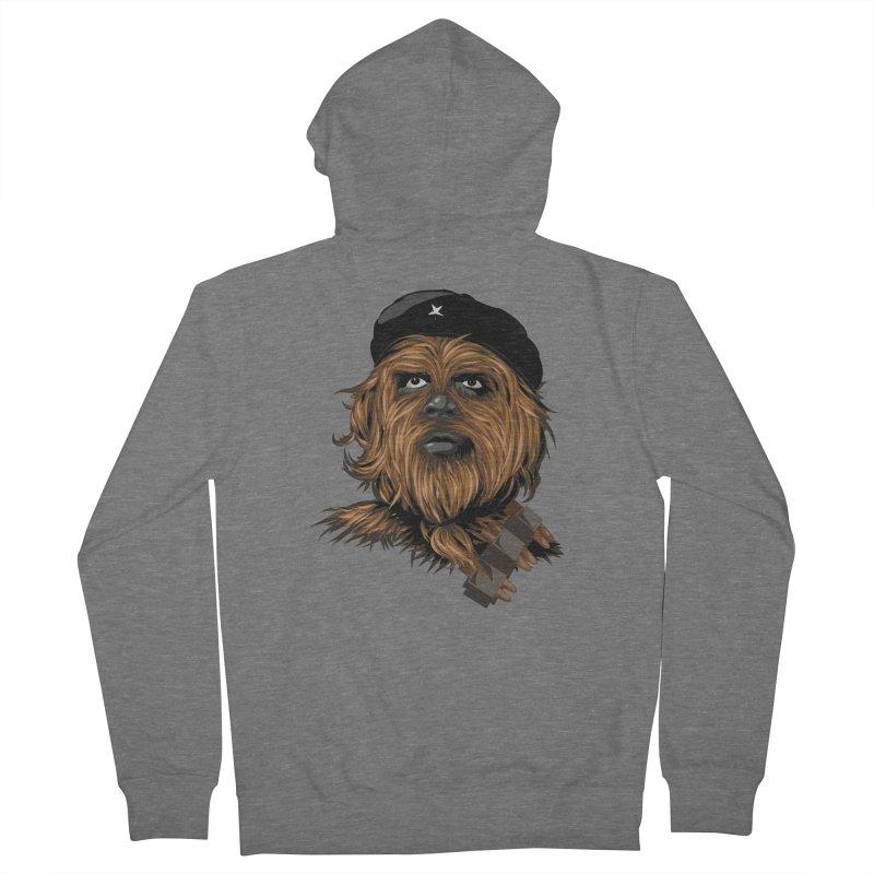Chewie Guevara Men's Zip-Up Hoody by yobann's Artist Shop