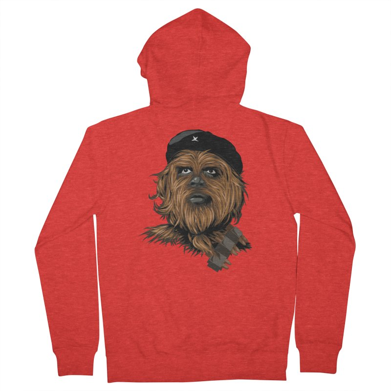 Chewie Guevara Men's Zip-Up Hoody by yobann's Artist Shop