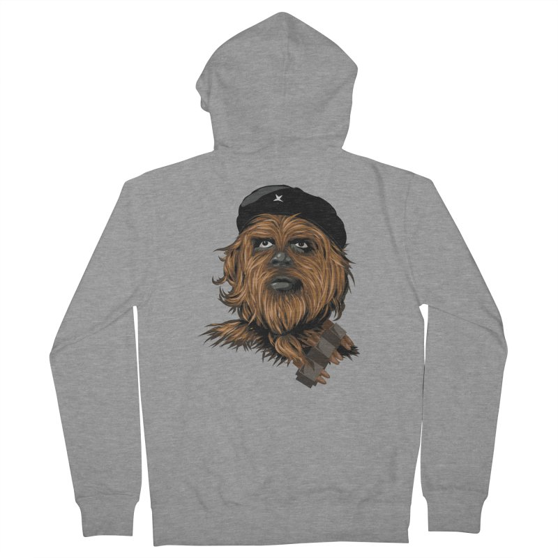 Chewie Guevara Men's French Terry Zip-Up Hoody by yobann's Artist Shop